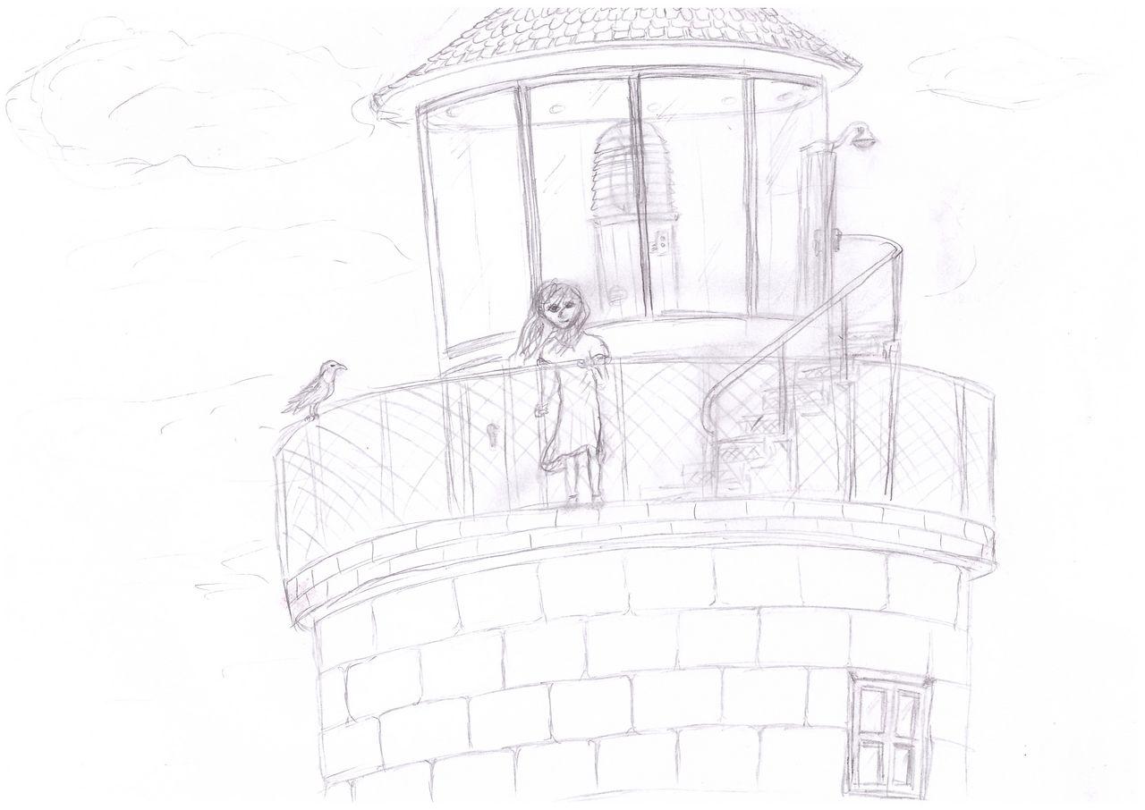 Ева на маяке