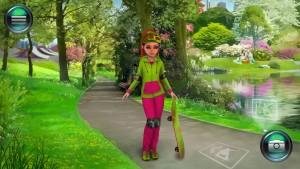 Фрида в парке